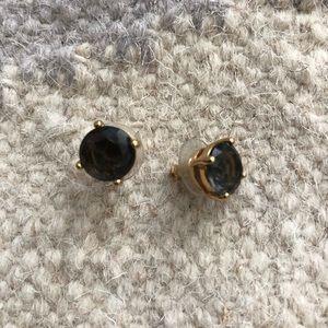 Kate Spade Brown Jewel Stud Earrings